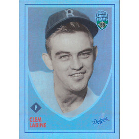 2002 Super Teams - Clem Labine Retrofractors #26 972/1955