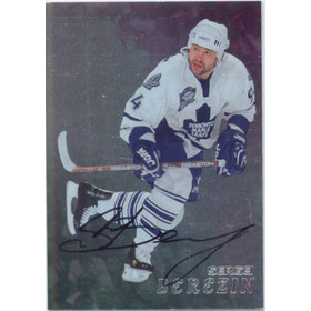1998-99 BE A PLAYER - SERGEI BEREZIN #285 AUTO