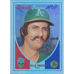 2002 Super Teams - Rollie Fingers Retrofractors #130 1626/1974