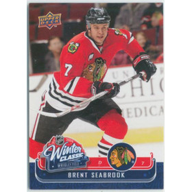 2008-09 MVP - BRENT SEABROOK #WC17 WINTER CLASSIC
