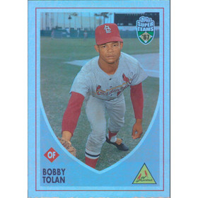 2002 Super Teams - Bobby Tolan Retrofractors #84 482/1967