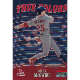 2000 Stadium Club Chrome - Mark McGwire True Colors #TC5