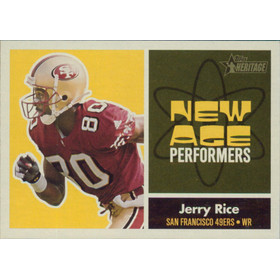 2001 Heritage - Jerry Rice New Age Performers #NA2