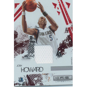 2009-10 Rookies & Stars - Josh Howard Longevity Materials Ruby #18 83/250