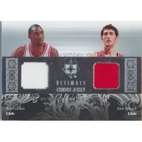 2006-07 Ultimate Collection - Pau Gasol/Hakim Warrick Combos Jerseys Dual #UCD-GH 35/75