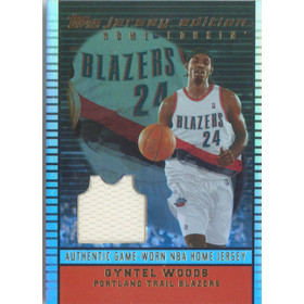 2002-03 Topps - Qyntel Woods Jersey Edition #JEQWO