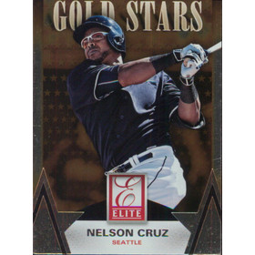 2015 Elite - Nelson Cruz Gold Stars #9