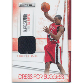 2010-11 Rookies & Stars - Marcus Camby Dress for Success Materials #27 33/299