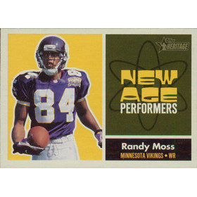 2001 Heritage - Randy Moss New Age Performers #NA10