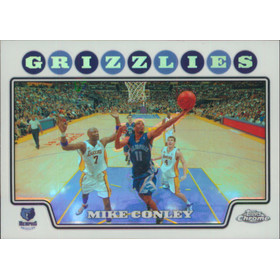 2008-09 Topps Chrome - Mike Conley Refractor #120