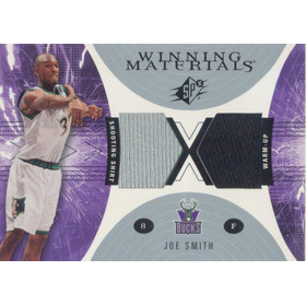 2003-04 SPX - Joe Smith Winning Materials #WM18