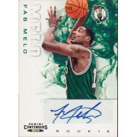 2012-13 Contenders - Fab Melo RC #221