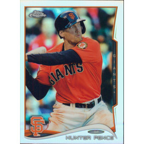 2014 Topps Chrome - Hunter Pence Refractors #166