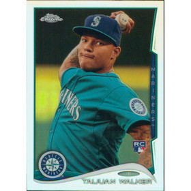 2014 Topps Chrome - Taijuan Walker Refractors #22