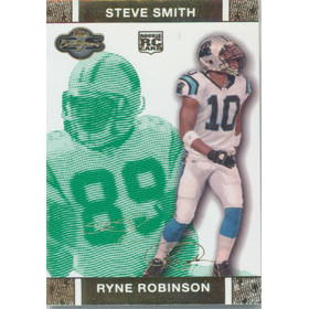 2007 Co-Signers - Ryne Robinson/Steve Smith Changing Faces Gold Green #94B 86/249