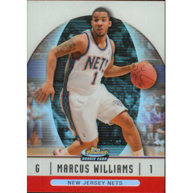 2006-07 Finest - Marcus Williams Refractor #74