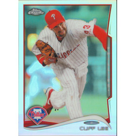 2014 Topps Chrome - Cliff Lee Refractors #37