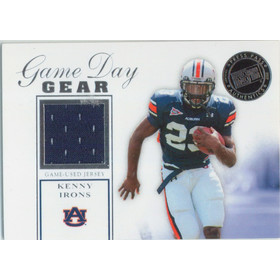 2007 Press Pass SE - Kenny Irons Game Day Gear Jerseys Silver #GDG-KI
