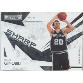 2009-10 Rookies & Stars - Manu Ginobili Sharp Shooters Materials #14