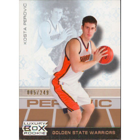 2007-08 Luxury Box - Kosta Perovic Bronze #72 5/249