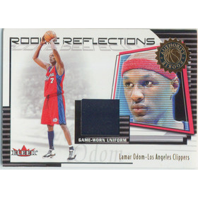 2000-01 Fleer - Lamar Odom Authority Rookie Reflections #RR16