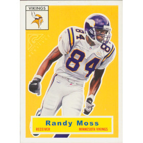 2000 Topps Gallery Heritage - Randy Moss Proofs #H3