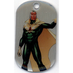2016 Marvel Dossier Dog Tags - Vision #54 SP!