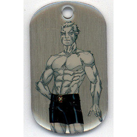 2016 Marvel Dossier Dog Tags - Iceman #48 SP!