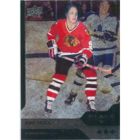 2013-14 BLACK DIAMOND - BOBBY HULL #151 TRIPLE DIAMOND