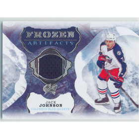 2016-17 ARTIFACTS - JACK JOHNSON #FA-JJ FROZEN ARTIFACTS