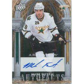 2009-10 ARTIFACTS - MARK FISTRIC #AF-FI AUTOFACTS