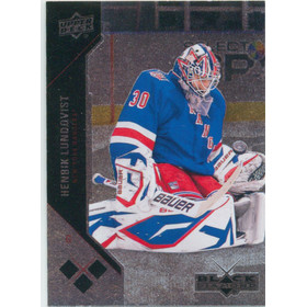 2011-12 BLACK DIAMOND - HENRIK LUNDQVIST #157 TRIPLE DIAMOND