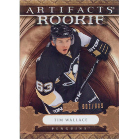 2009-10 ARTIFACTS - TIM WALLACE #164 ROOKIE 907/999