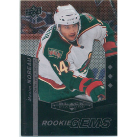 2010-11 BLACK DIAMOND - MAXIM NOREAU #156 ROOKIE GEMS TRIPLE DIAMOND