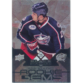 2008-09 BLACK DIAMOND - TOM SESTITO #155 ROOKIE GEMS TRIPLE DIAMOND