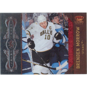2010-11 CROWN ROYALE - BRENDEN MORROW #4 ROYAL PAINS 344/499