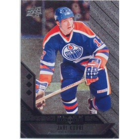 2014-15 BLACK DIAMOND - JARI KURRI #159 TRIPLE DIAMOND