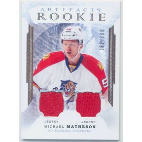 2016-17 ARTIFACTS - MICHAEL MATHESON #167 ROOKIE 181/399