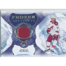 2016-17 ARTIFACTS - MARTIN HANZAL #FA-MH FROZEN ARTIFACTS