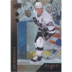 2009-10 BLACK DIAMOND - LUC ROBITAILLE #102 DOUBLE DIAMOND