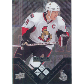 2008-09 BLACK DIAMOND - DANIEL ALFREDSSON #145 TRIPLE DIAMOND