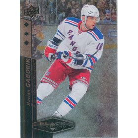 2010-11 BLACK DIAMOND - MARIAN GABORIK #151 TRIPLE DIAMOND