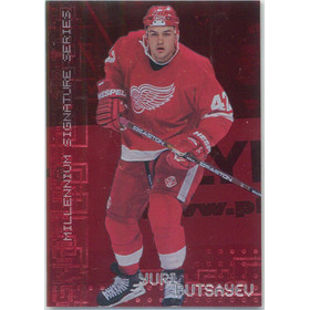 1999-00 BE A PLAYER MILLENNIUM - YURI BUTSAYEV #94 RUBY 699/1000