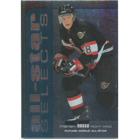 1999-00 BE A PLAYER MEMORABILIA - MARIAN HOSSA #SL-15 ALL-STAR SELECTS