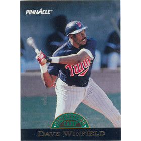 1993 Pinnacle - Dave Winfield Cooperstown #10