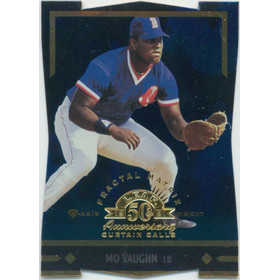 1998 Leaf - Mo Vaughn Fractal Diamond Axis #148 14/50