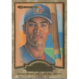 1998 Donruss - Jose Cruz Jr. Rookie Diamond Kings #9 1957/10000