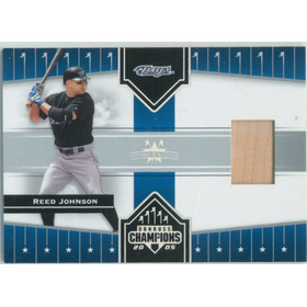 2005 Donruss Champions - Reed Johnson Impressions Material #79