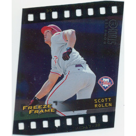1998 Studio - Scott Rolen Freeze Frame #15 56/4500