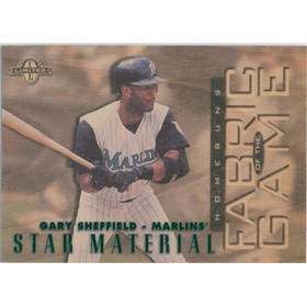 1997 Limited - Gary Sheffield Fabric of the Game #29 398/750